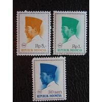 Индонезия 1966г. Известные люди.