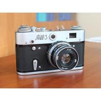 Фотоаппарат ФЭД-3 в хорошем состоянии