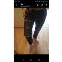 Брюки джинс рваники из Испании Барселона р. 44-46