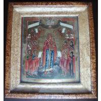 Икона Всех Скорбящих Радость. Ветка XIX век. Всем Скорбящим Радость