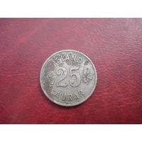 25 аурар 1954 год Исландия