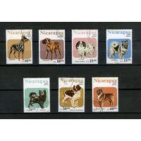 Никарагуа 1987г. собаки. 7м.