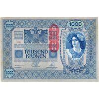 Австрия, 1000 крон обр. 1902 г. (1919 г.) - 2