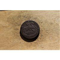2 Копейки 1764 года перечекан