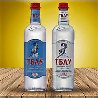 """Минеральная природная питьевая столовая вода """"Тбау"""" премиум класса"""