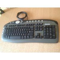 Клавиатура мультимедийная для компьютера Chicony KB-0108 интерфейс подключения PS/2