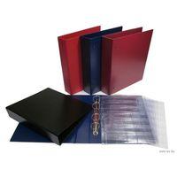 Альбом, бумвинил, Optima (лист с клапаном)