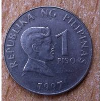 1 песо 1997г. Филиппины