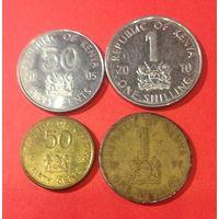 Кения, 4 монеты