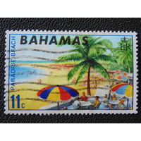 Багамы 1969 г. Пляж.