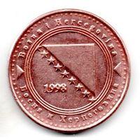 БОСНИЯ  И ГЕРЦЕГОВИНА 10 ФЕНИГОВ 1998