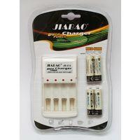 Зарядное устройство JB-212 + 4 АА Аккумулятора