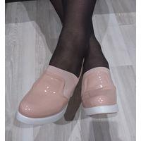 Эффектные туфли 39-40размер