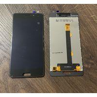 Дисплейный модуль Micromax 4310 черный (оригинал)