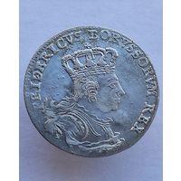 6 грошей шостак 1757 Пруссия