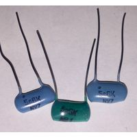 К73-9. 5600 пФ - 100 В ((Цена за 20 шт)) 562. Конденсаторы полиэтилентерефталатные, металлоплёночные, пленочные. 5600пф 5,6нф. 5600 пикофарад