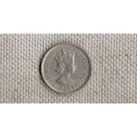 Карибские Острова /Карибы/ государства / 10 центов 1965 //(GB)/