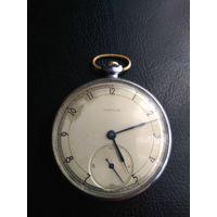 Часы Карманные молния. Тонкие.  1949 год. На ходу.