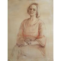 Женский портрет, рисунок