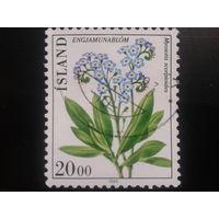 Исландия 1983 цветы