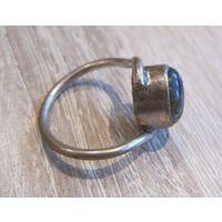 Кольцо с натуральным канем