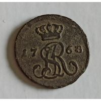1/2 гроша медного 1768  G