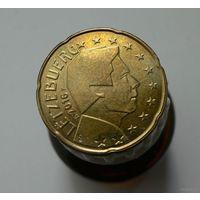 20 евроцентов 2016 Люксембург UNC