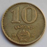 Венгрия, 10 форинта 1987 г