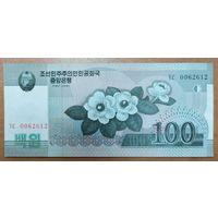 100 вон 2008 года - КНДР - UNC