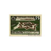 Германия Vechta 75 пфеннигов 1922 г. UNC   распродажа