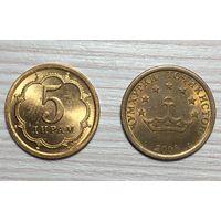 Таджикистан, 5 дирамов 2006
