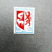 Марка Франция 1966 год. Стандартный выпуск