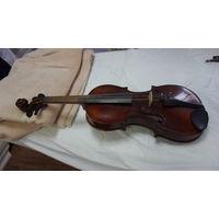 Скрипка старая Германия рабочая со смычком фирмы Klingen