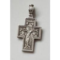 Крестик нательный, Серебро 84 проба