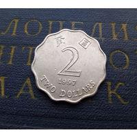 2 доллара 1997 Гонконг #01