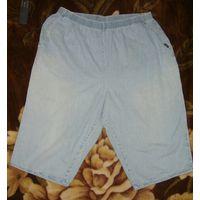 Шорты/бриджи джинсовые, размер 60