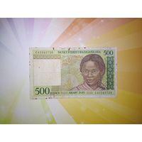 Мадагаскар 500 франков 1994г