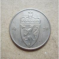 Норвегия 50 эре 1978