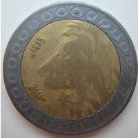 Алжир 20 динаров 1992 г. (g)