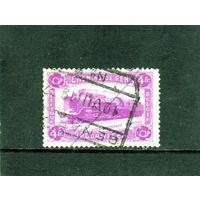 Бельгия.Mи:BE PP9.Железнодорожная марка: Паровоз с тендером.1934.