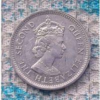 Белиз 5 центов 2009 года. Королева Елизавета II. Инвестируй выгодно в монеты планеты!
