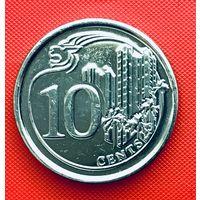 15-11 Сингапур, 10 центов 2014 г.