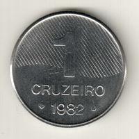 Бразилия 1 крузейро 1982