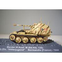 "Marder III Ausf.(Sd.Kfz.138). 12.SS-Pz.Div.""Hitlerjugen d"". Normandie(France) 1944 из европейской серии."