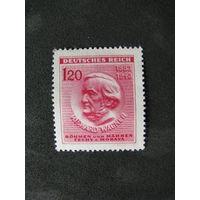 Богемия и Моравия 1943 130 лет со дня рождения Ричарда Вагнера (А)
