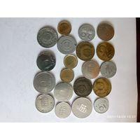 Монеты Венгрии с рубля.