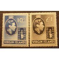 Британские колонии. Виргинские острова. Лот 14.
