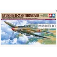 ИЛ-2 Советский штурмовик, сборная модель 1/48 Tamiya (J) 61113