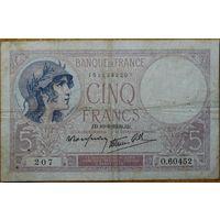 5 франков 1939 г. Р83