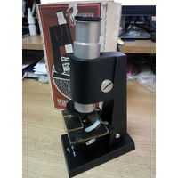 Микроскоп учебный мини 125х 50х Беларусь